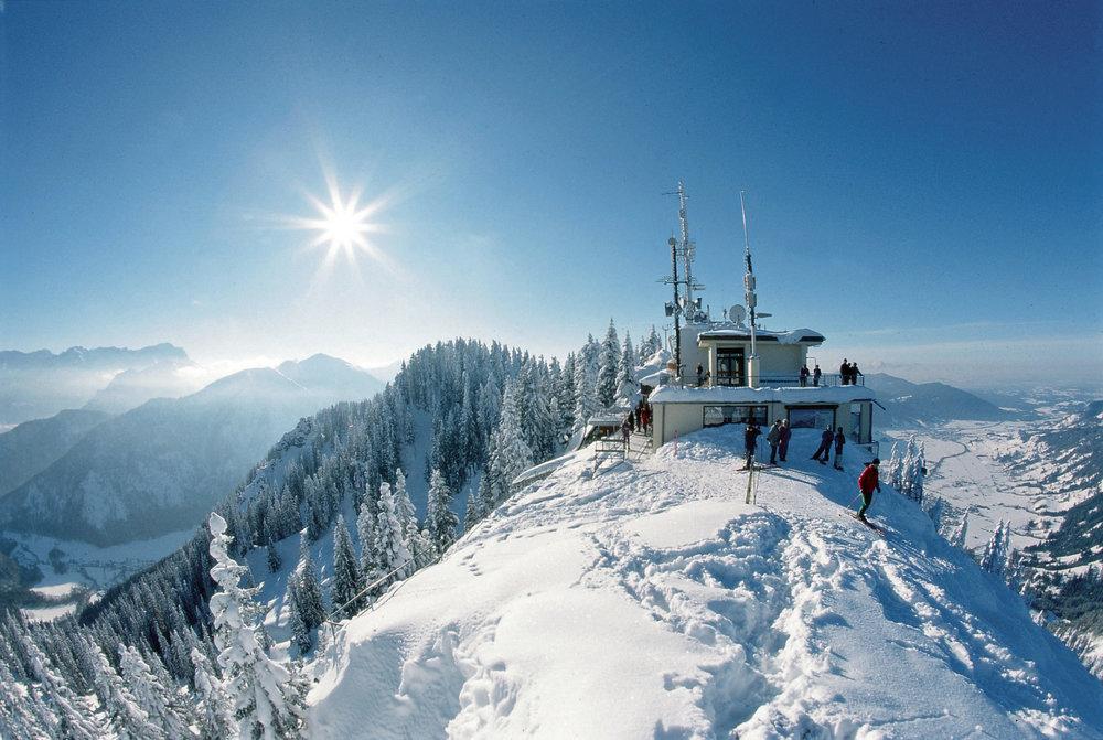 Bergstation der Laber Bergbahn - © Ammergauer Alpen GmbH | Gemeinde Oberammergau. Foto: Bernd Ritschel