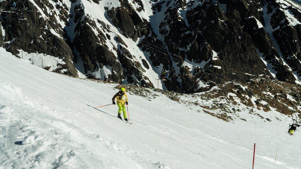 Slnečná lyžovačka v Lomnickom sedle - Tatranská Lomnica (19.2.2019)