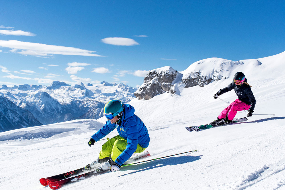 Skifahrer in Loser Altaussee - © Loser Bergbahnen GmbH/Tom Lamm