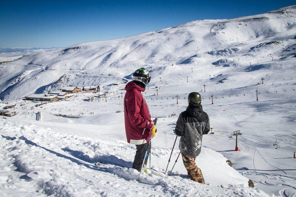 Le secteur de Borreguiles, au coeur du domaine skiable de Sierra Nevada - © Sierra Nevada