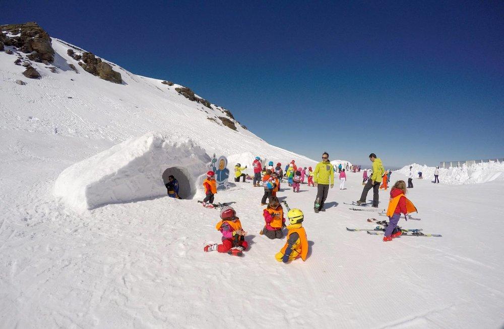 Sierra Nevada propose de nombreuses zones ludiques à destination des plus jeunes... - © Sierra Nevada