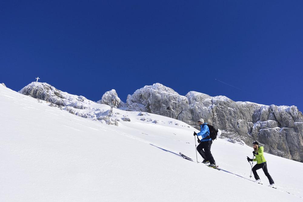 Skitour im Dammkar bei Mittenwald - © Alpenwelt Karwendel