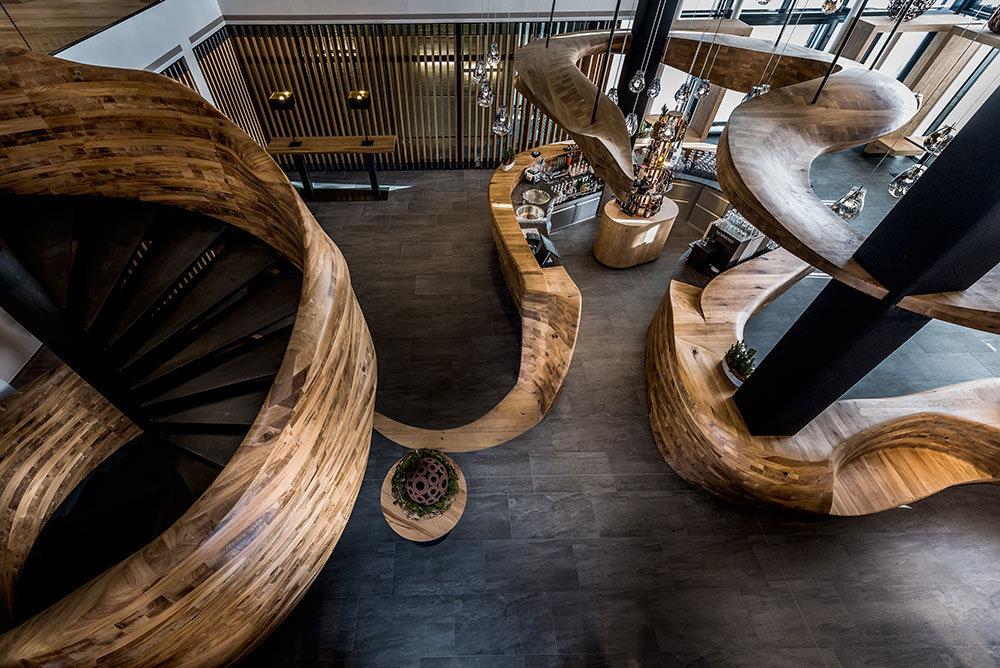 Bar v hotelu Puradies je příjemným místem k odpočinku - © Puradies Hotel
