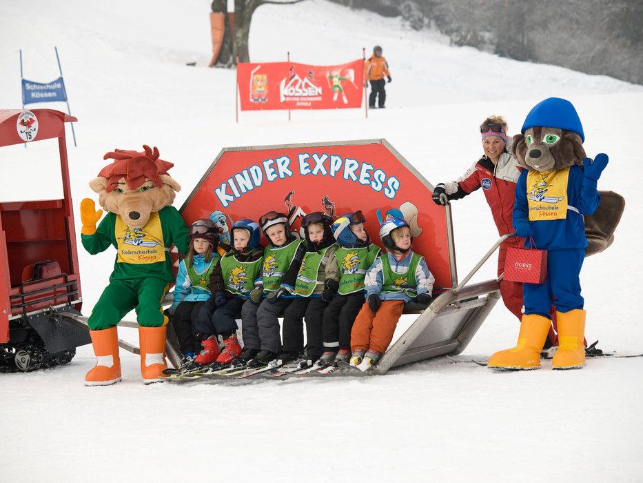Kinderexpress in Kössen - © Bergbahnen Kössen
