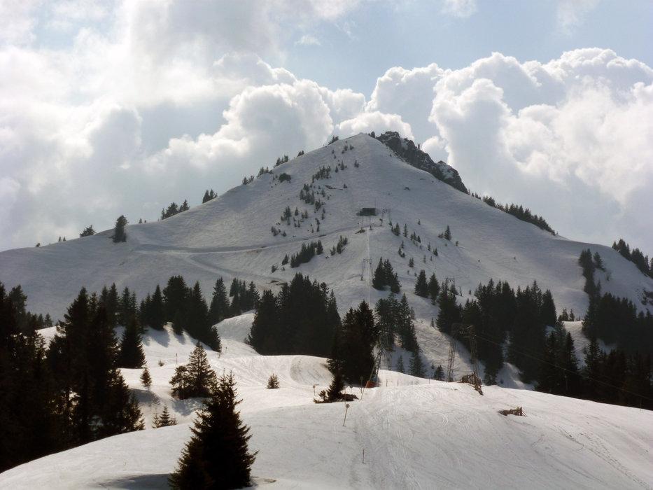 Der Grünten im Winter - © DAV/Manfred Scheuermann