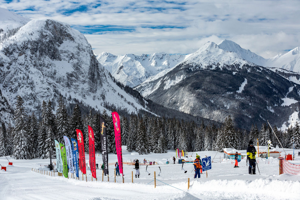 Impressionen vom Skigebiet Ehrwalder Almbahn - © Ehrwalder Almbahn