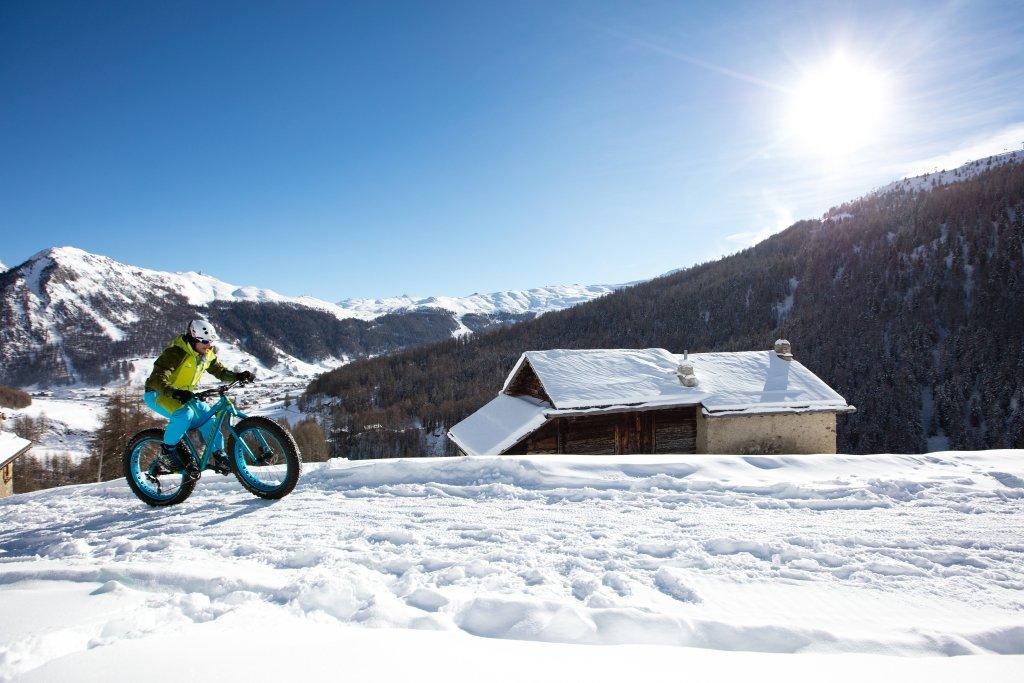 Fat bike v Livignu - atraktivní způsob, jak poznávat Livigno na kole - © Roby Trab