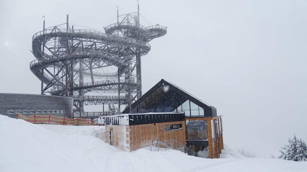 Vynikající sněhové podmínky na Dolní Moravě - začátek ledna 2019 - © facebook | Horský resort Dolní Morava