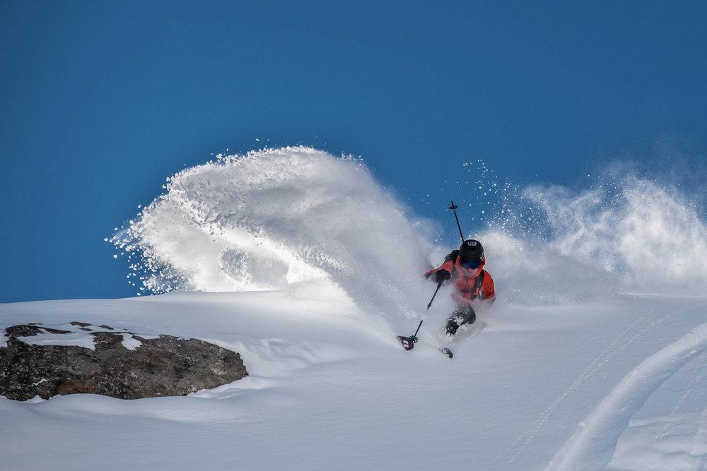 Feinster Powder im Skigebiet Kaunertaler Gletscher - © Kaunertaler Gletscherbahnen