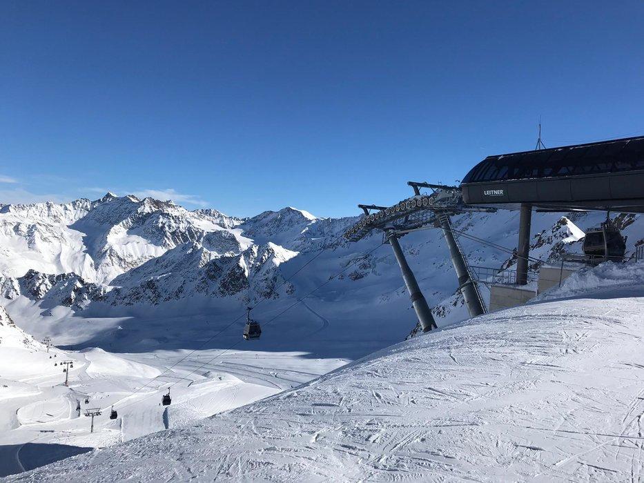 Überblick über das Skigebiet Kaunertaler Gletscher - © Kaunertaler Gletscherbahnen