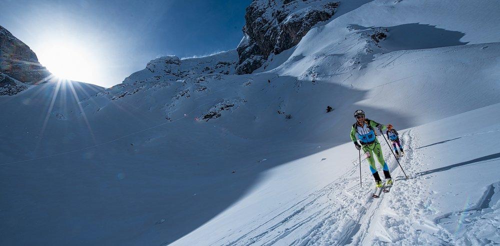 Le Dévoluy a le plaisir d'accueillir cette année en marge de la traditionnelle course de ski alpinisme La Grande Trace, une manche de Coupe du monde. - © Agence KROS / Remi Fabbregue