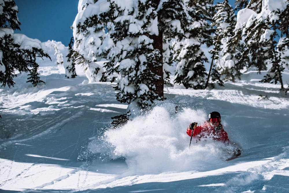 February was GOOD to Mammoth Mountain, with more than 15 FEET of snow by about mid month and more on the way.  - © Mammoth Mountain