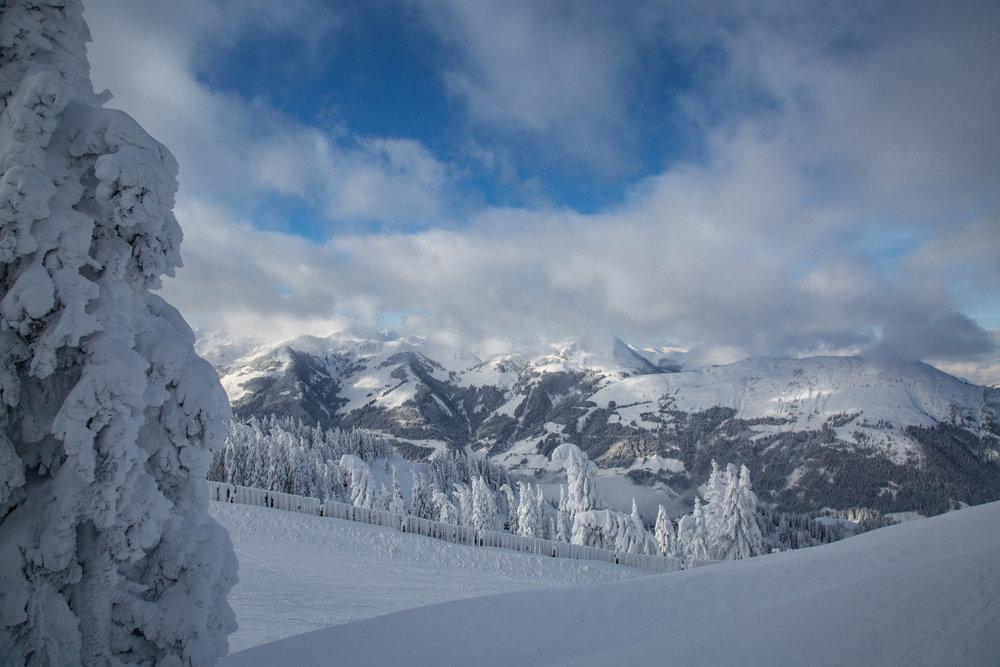 Impressionen aus dem Skigebiet Kitzbühel-Kirchberg - © Skiinfo