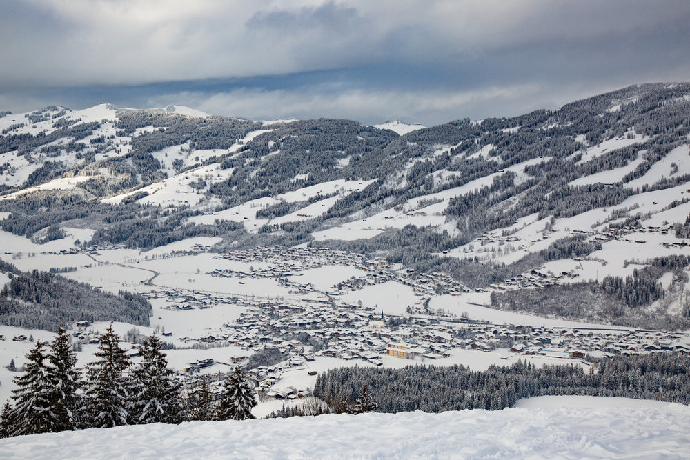 Pohľad na Kirchberg - © Skiinfo