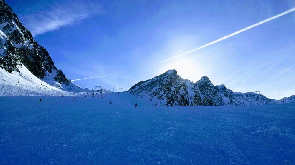 Trasa na lodowcu Rettenbach - Sölden - © Skiinfo