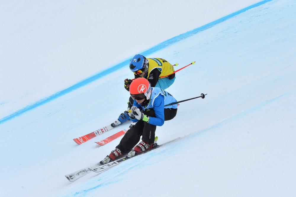 Les Ski Games se disputent chaque année sur le domaine skiable d'Orcières. Il s'agit d'une compétition de ski cross destinée aux enfants des clubs, (catégorie poussin et benjamins) - © G. Baron