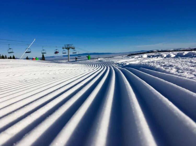Perfekte Bedingungen herrschen derzeit auch in der Slowakei, wie hier in Ski Vitanovà - © Ski Vitanová - facebook