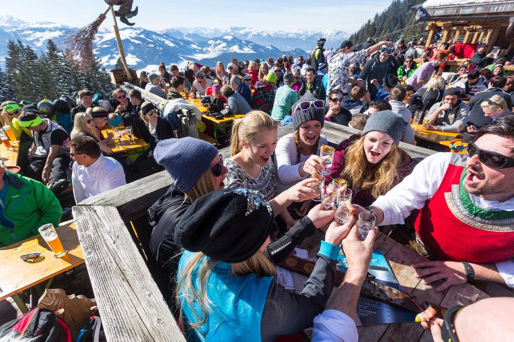 Skihüttengaudi in der SkiWelt - © Anita Baumgartner