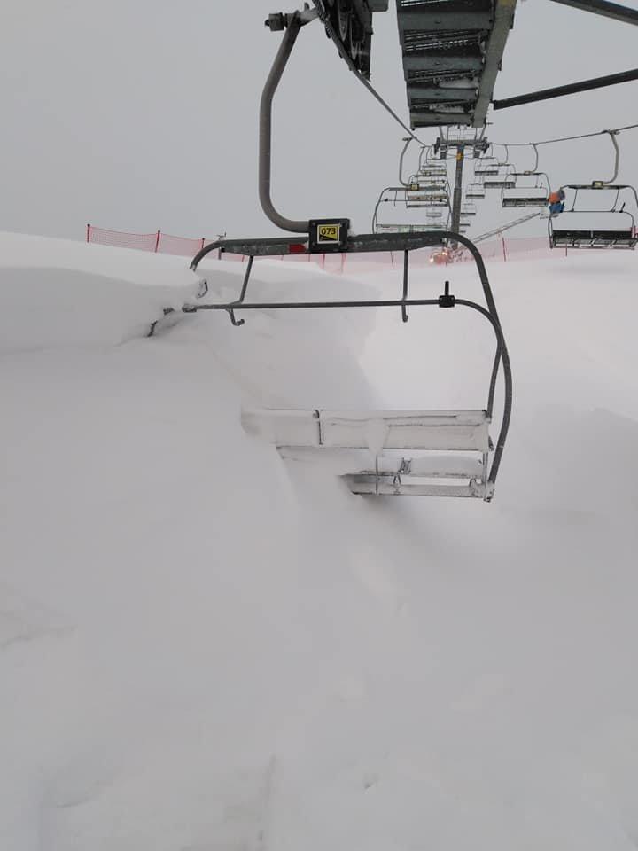 Strachan ski centrum ráno po čerstvej snehovej nádielke 15.1.2019 - ©   facebook | Strachan ski centrum