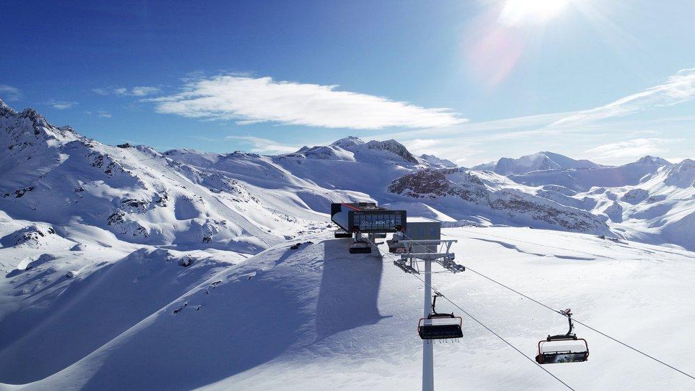 So wird die neue Bergstation der 6-CLD-B Velilleck F1 in Ischgl aussehen - © Silvretta Arena AG