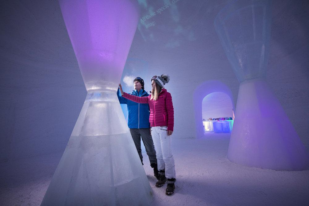 Kitzsteinhorn Ice Camp - © Kitzsteinhorn - Gletscherbahnen Kaprun AG