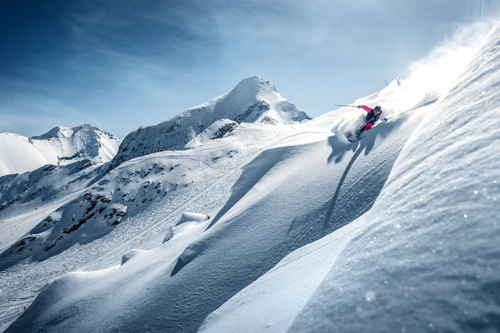 Freeriden am Kitzsteinhorn - © Kitzsteinhorn - Gletscherbahnen Kaprun AG