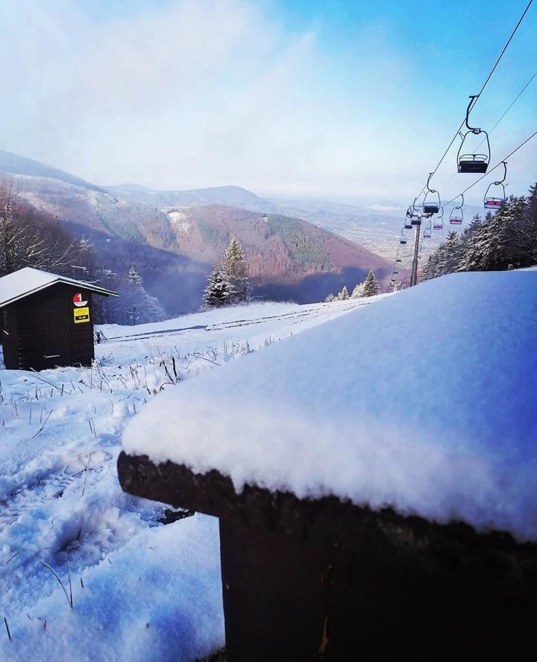 Prvý sneh na Pustevnách - © Pustevny - facebook