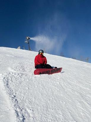 Hunter Mountain - Snow was great on my recent visit.  Not bad at all for the 2nd day open for the season.  - © Guest