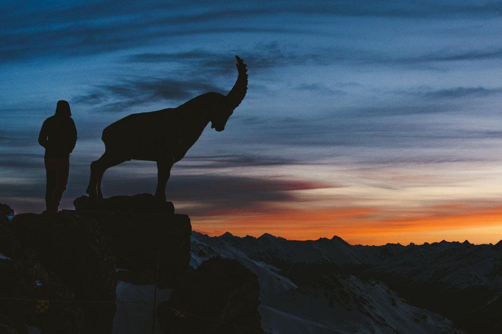 Sonnenaufgang am Piz Nair - © Filip Zuan