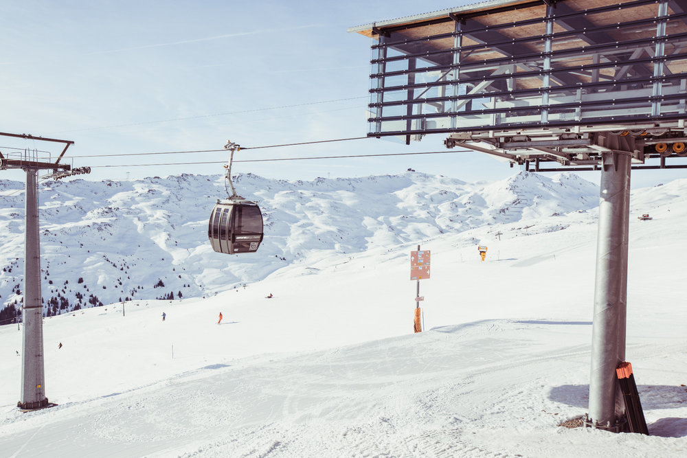 Bergstation Nagens auf 2137 Meter Höhe - © Skiinfo | Sebastian Lindemeyer