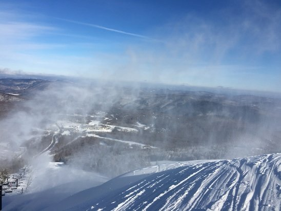 Killington Resort - Skied hard today at the beast of the East with midweek mike.