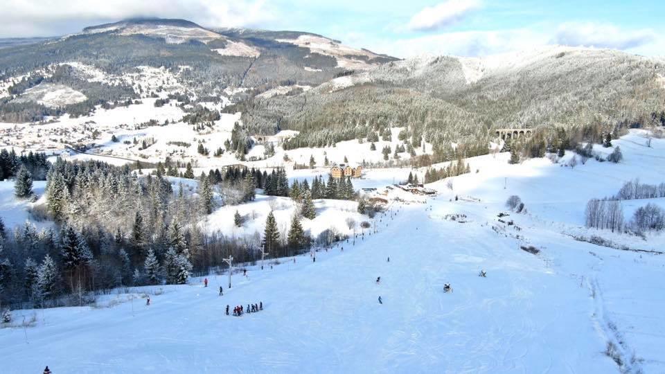 v Telgárte napadlo okolo 15 cm nového snehu (30.1.2020) - © facebook | Ski Telgárt