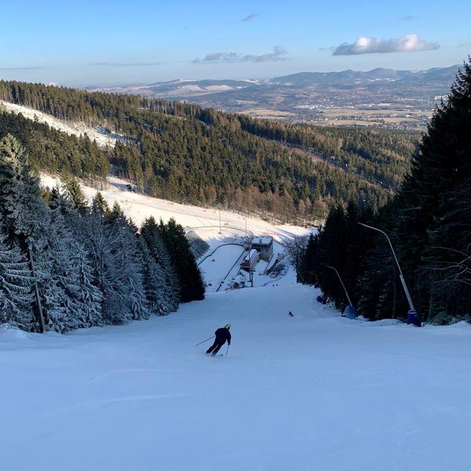 Skiareál Ještěd 13.2.2020 - © facebook | Skiareál Ještěd