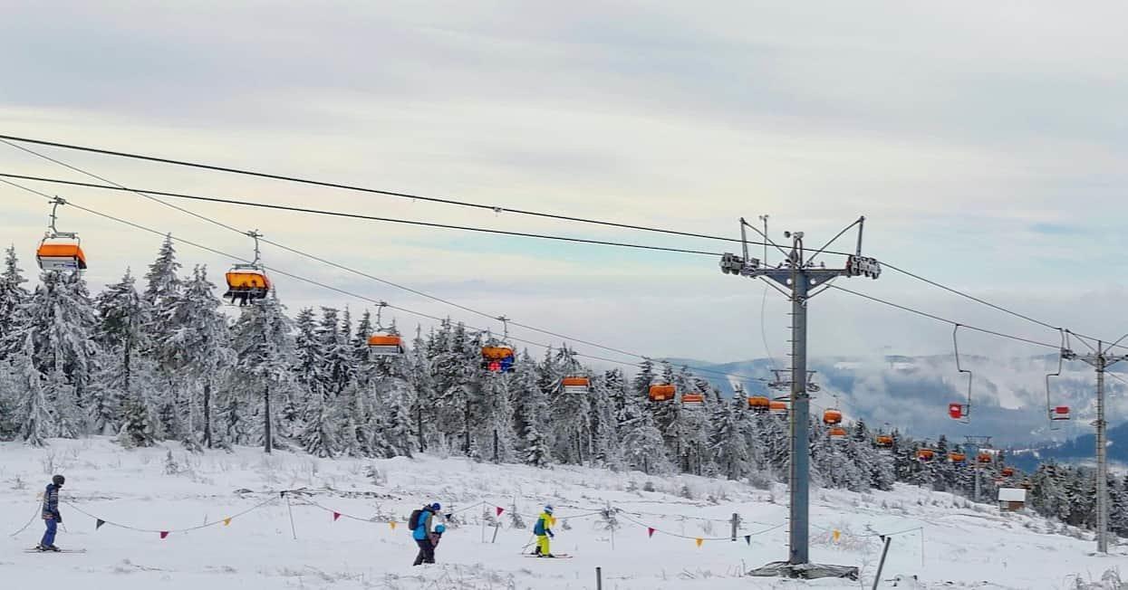 Skiareál Klínovec 15.2.2020 - © facebook | Skiareál Klínovec