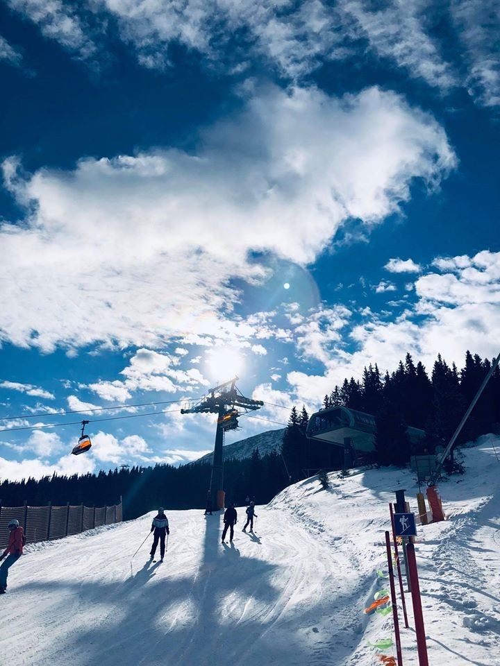 Slnečná lyžovačka v Jasnej - 18.2.2020 - © TMR, a.s.