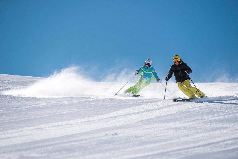 Skifahren in Hinterstoder - © OÖT_David Lugmayr