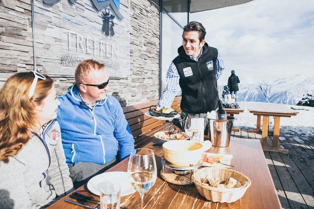 Bergrestaurant Gipfeltreffen in Königsleiten - © Zillertal Arena