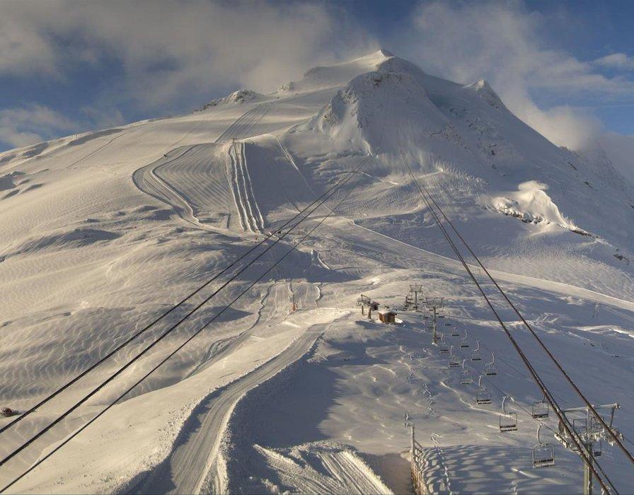 Lodowiec Grande Motte  - © Webcam Roundshot