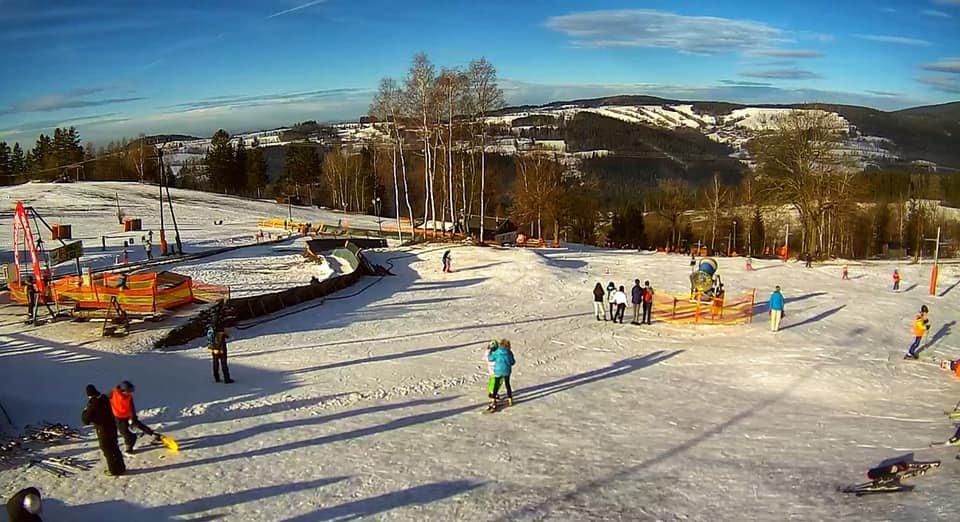 Skiareál Benecko 15.1.2020 - © facebook | Benecko - vzdušné lázně v Krkonoších