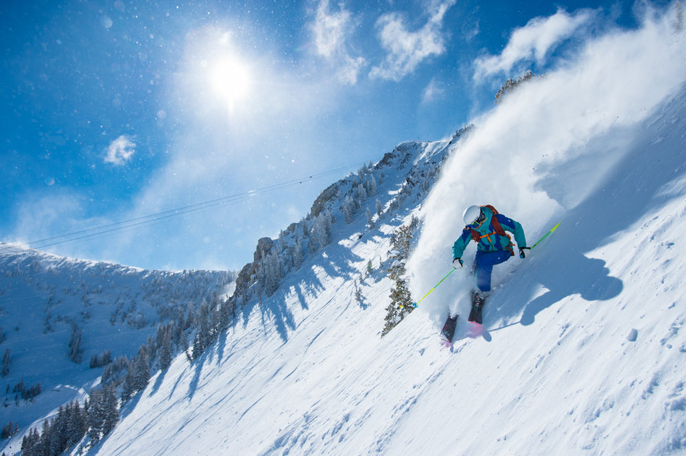 Empowering women in powder. - © Scott Markewitz