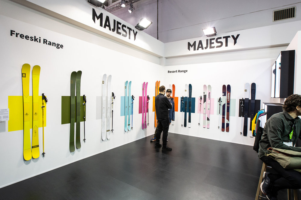 Stand Majesty ad ISPO 2020  - © Skiinfo