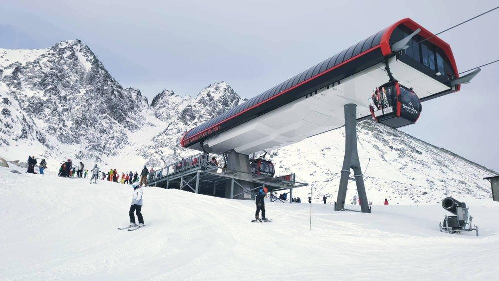 Tříkrálová lyžovačka v Tatranské Lomnici - © TMR, a.s.