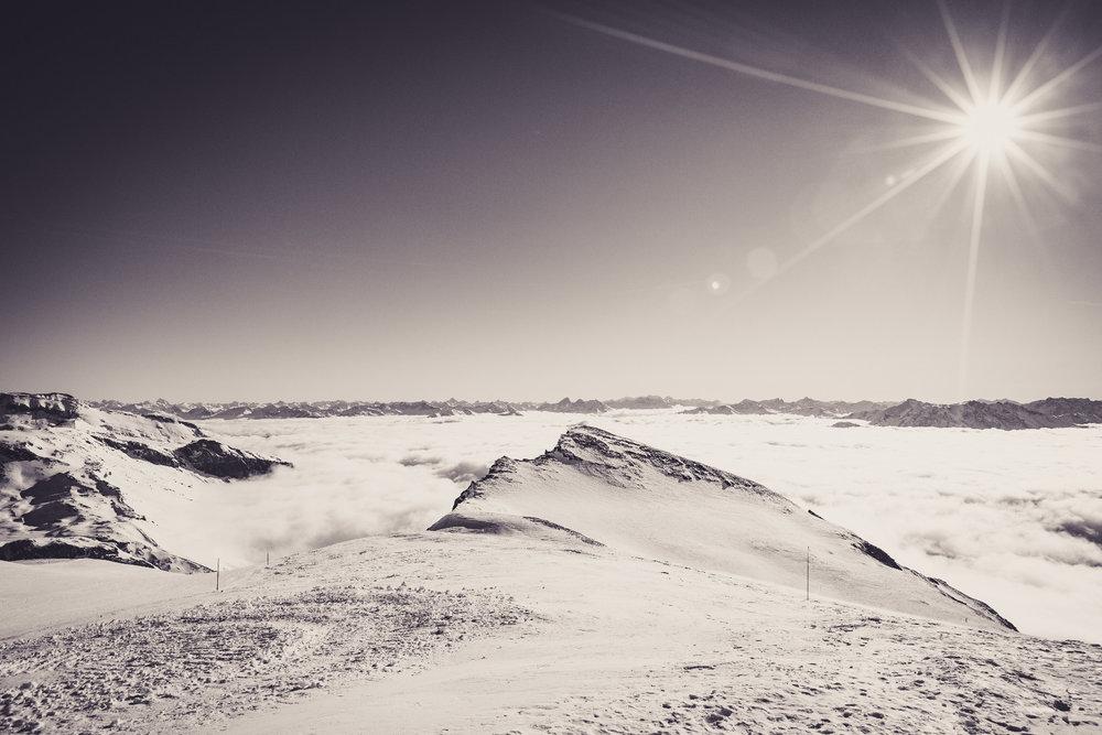 Výhľad z La Siala (2810m) - © Skiinfo | Sebastian Lindemeyer