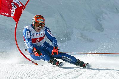 Didier Cuche in Action - © Swiss-Ski