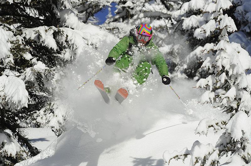 Aurélien Ducroz testeur de renom des skis freeride de Dynastar - © Dan Ferrer