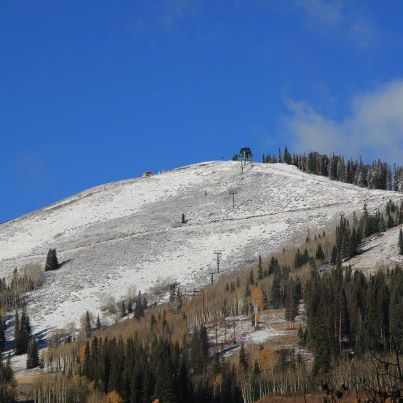 A Dusting at Deer Valley. - © Matt Baydala/Deer Valley/Facebook