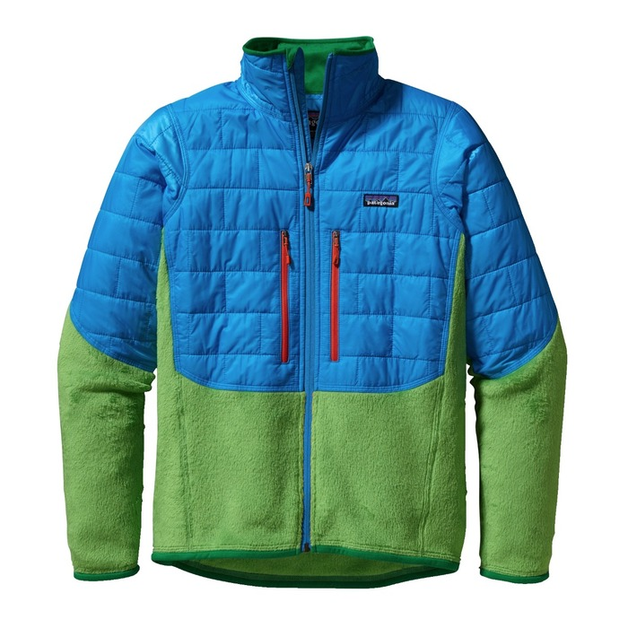 The Patagonia Men's Nano Puff Hybrid Jacket.