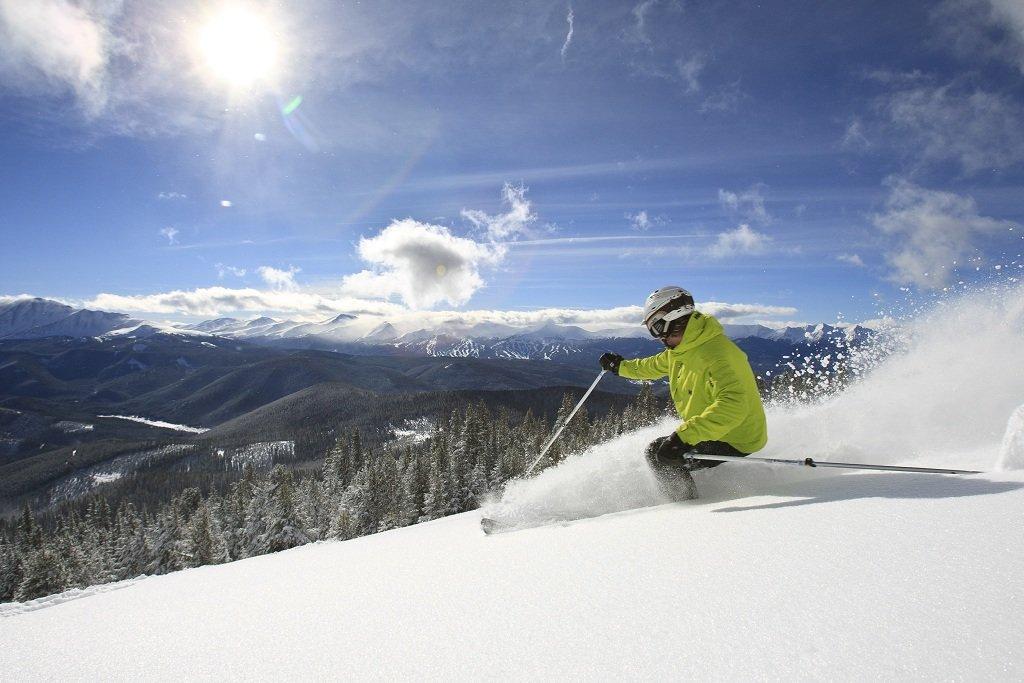 Early season skiing at Keystone - © Liam Doran