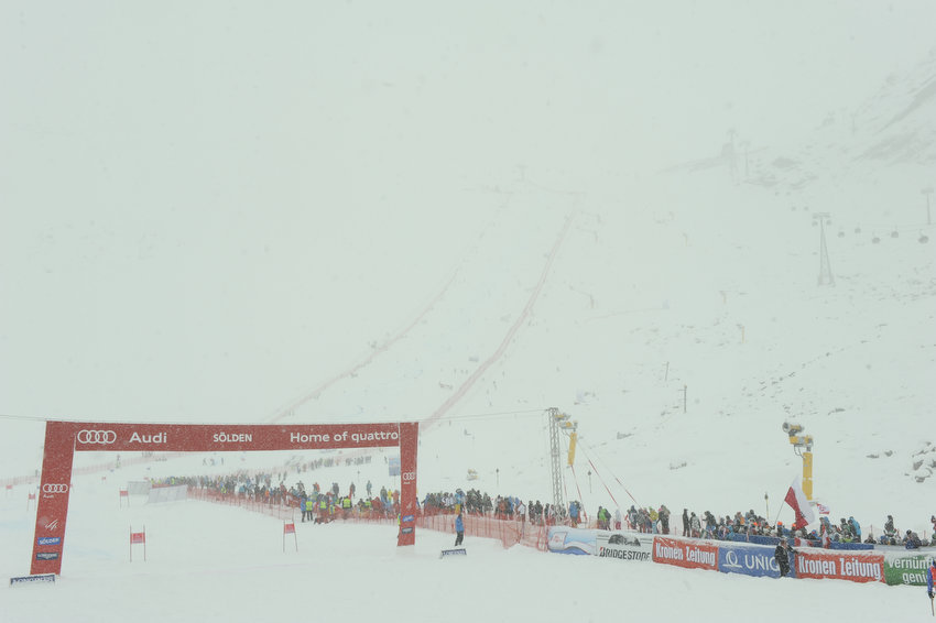 World Cup Soelden 2012 - © Michel Cottin/AGENCE ZOOM