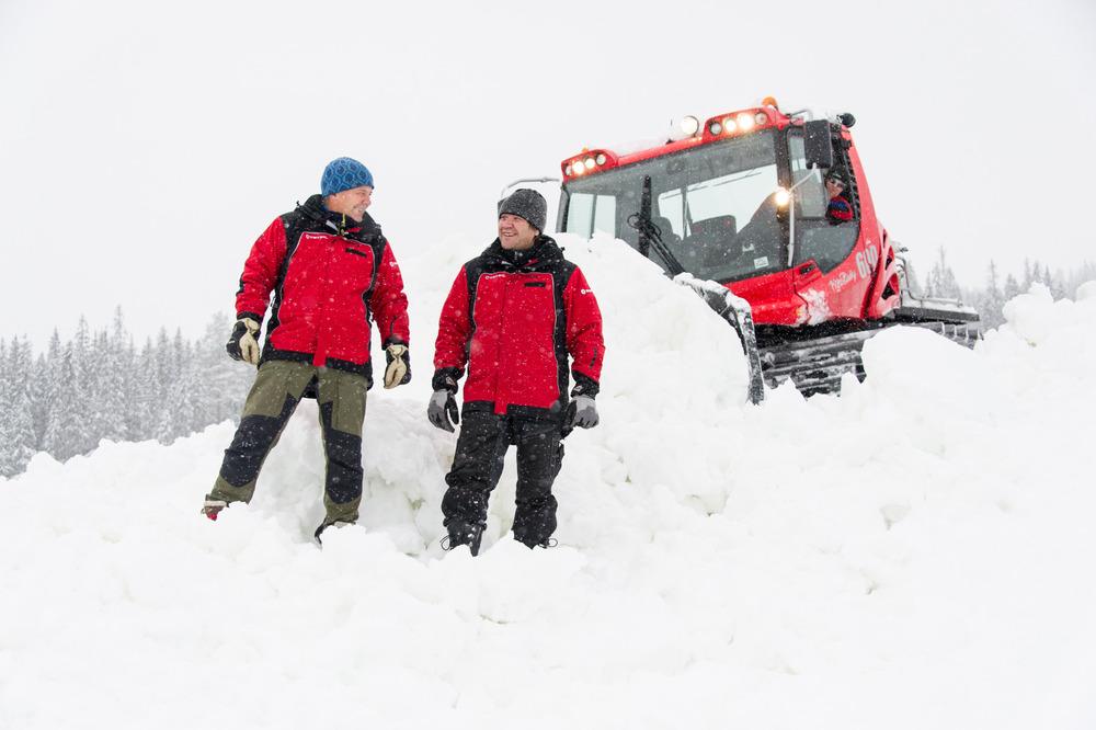 Jan Linstad och Wegard Matsson redo att öppna i Trysil - © Ola Matsson